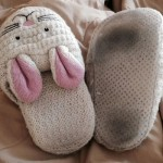 Big Brother 16 bunny slippers