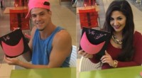 Zach Rance & Victoria Rafaeli sign THE pink hat