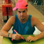 Zach Rance and his former Pink Hat reunited
