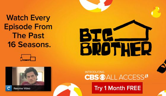 CBS All Access 1-Month Free Promo Code