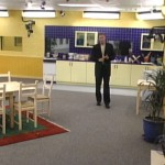 Ian O'Malley tours the Big Brother kitchen