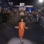 Julie Chen is outside the Big Brother house