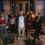 Big Brother 2 cast outside the house
