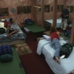 Houseguests find their beds