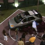 HGs compete for food and a car