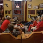 Big Brother 7 - All Stars - Houseguests gather in the living room