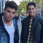 Zach Rance & Cody Calafiore together in NYC