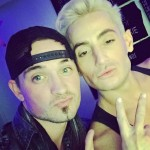 Caleb Reynolds and Frankie Grande