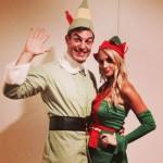 Jeff & Jordan as 'Elf' for Halloween 01