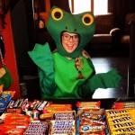 Nicole Franzel on Halloween
