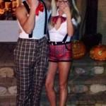 Hayden & Nicole on Halloween 01