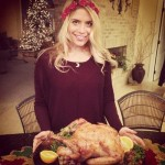 Ashley Iocco is ready for Thanksgiving