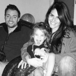 Amanda Zuckerman with family on Thanksgiving