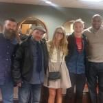 Donny, Hayden, Nicole, & Aaryn with more BB fans
