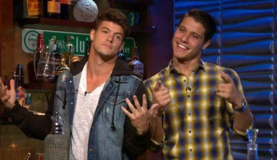 "Zach Rance & Cody Calafiore on Bravo's ""Watch What Happens Live"""