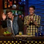 Zach Rance & Cody Calafiore on WWHL 01