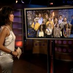 Julie Chen greets the HGs
