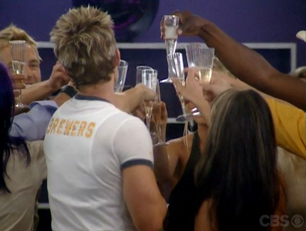 BB5 HGs toast their arrival
