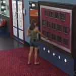 Rachel studies the Memory Wall