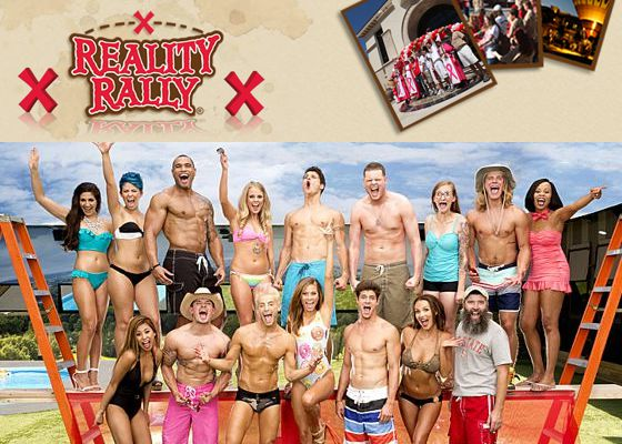 Big Brother 16 HGs supporting Reality Rally