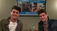 Cody Calafiore & Zach Rance at Meet & Greet