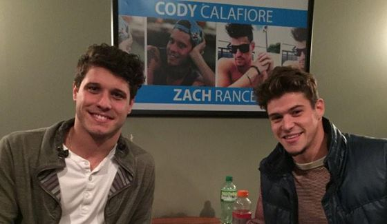 Cody Calafiore & Zach Rance at Meet & Greet