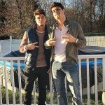 Zach Rance & Cody Calafiore get ready for their event