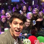 Cody takes a selfie with his Big Brother fans