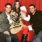 Cody Calafiore & family with Santa