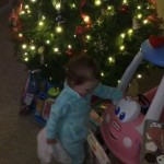 Derrick Levasseur's daughter Tenley on Christmas - 02
