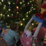 Derrick Levasseur's daughter Tenley on Christmas - 03