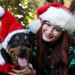Rachel Reilly celebrates Christmas
