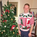 Andy Herren celebrates Christmas with all his fans