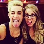 Frankie with Nicole