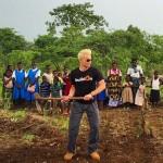 Frankie in Africa