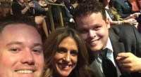 Derrick Levasseur at MMA Awards with Robyn Kass