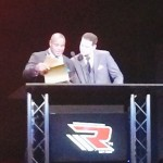 Derrick Levasseur presents at World MMA Awards