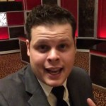 Derrick backstage at MMA Awards