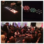 Derrick plays at All In poker tourney