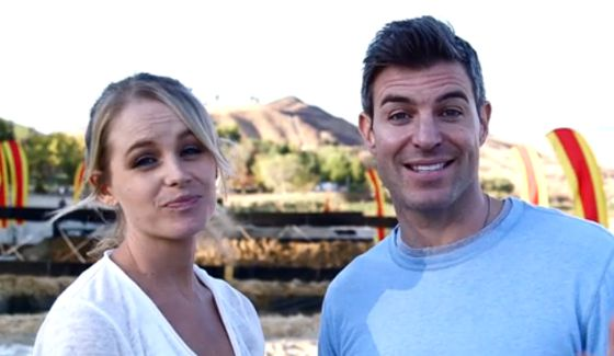 Jeff & Jordan together for The Amazing Race