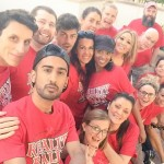 Big Brother Houseguests together at Reality Rally