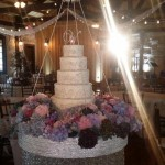Aaryn's wedding cake - Source: @GinaMarieZ