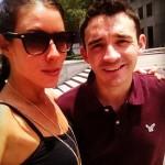 Liza Stinton with Ian Terry - Source: Instagram