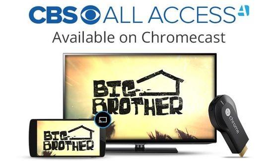 CBS All Access on Chromecast