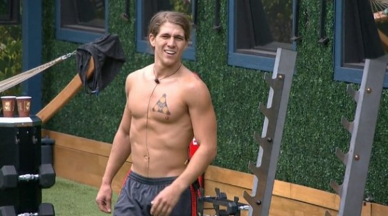 Jace Agolli on Big Brother 17 Feeds