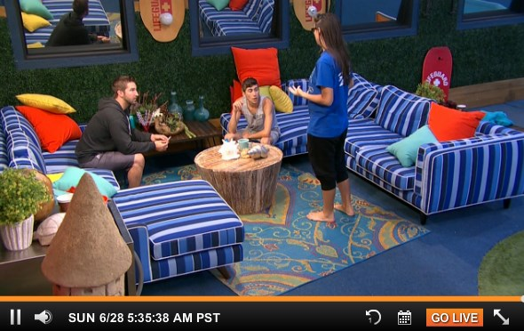 Backyard Pov At Night : Big Brother 17 Live Feeds Houseguests Catch On To Audrey?s Puppet