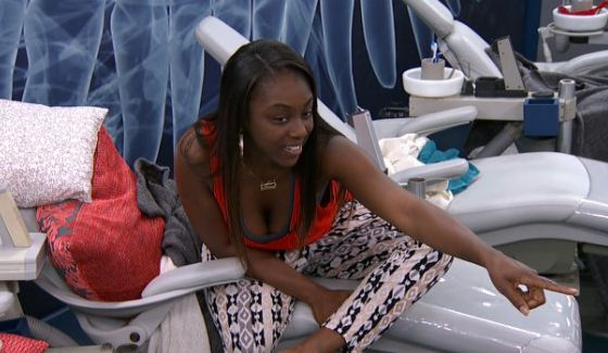 Da'Vonne Rogers on Big Brother 17 - Source: CBS All Access