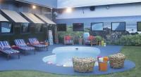 Big Brother 17 house backyard pool