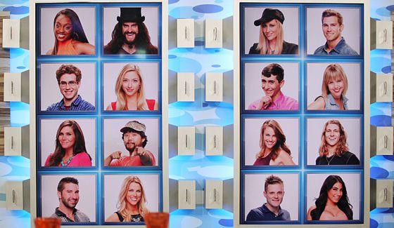 Big Brother 17 Memory Wall