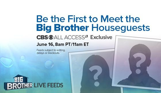 Big Brother 17 Houseguests revealed on Live Feeds